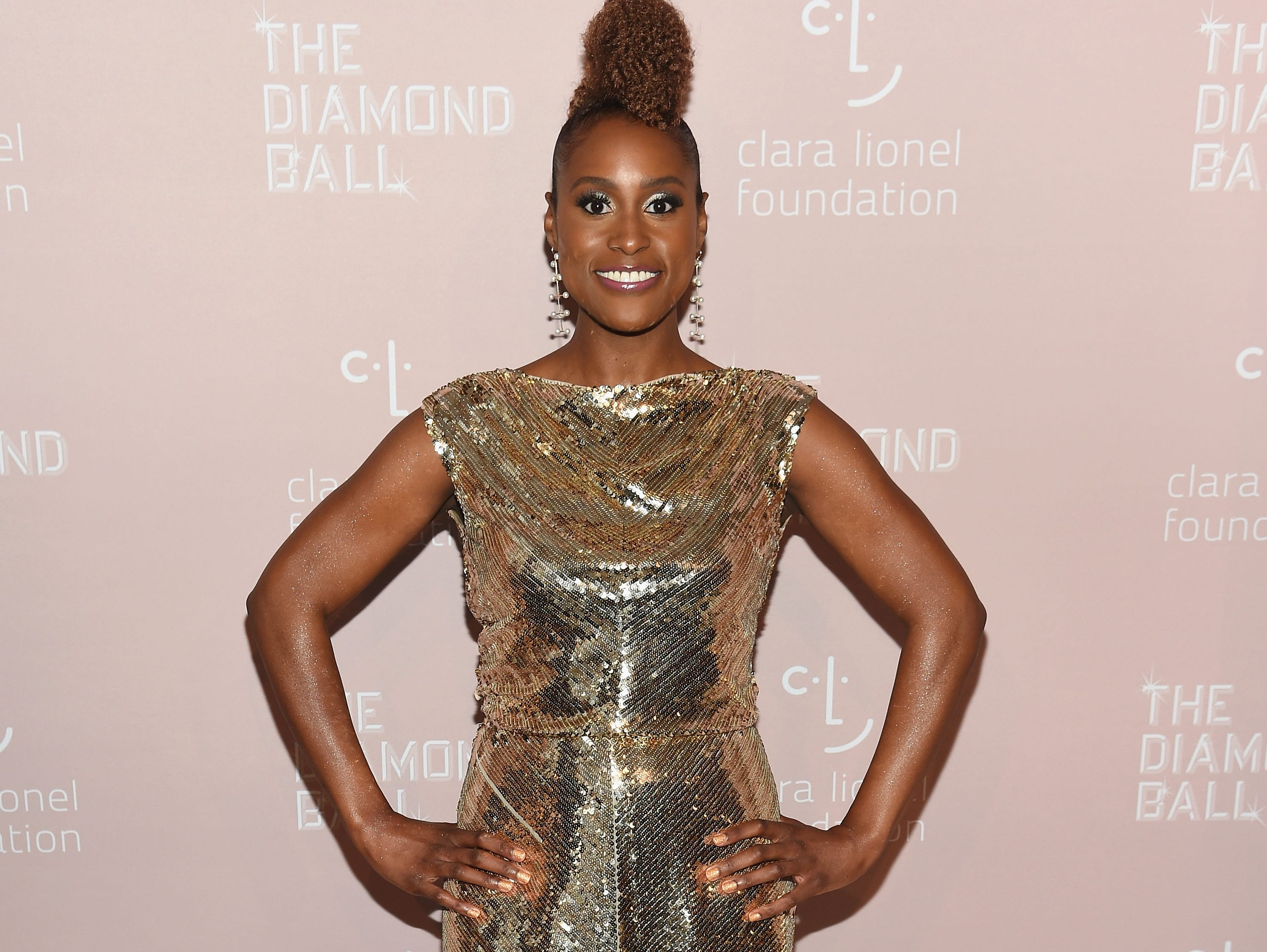 NEW YORK, NY - SEPTEMBER 13:  Issa Rae attends Rihanna's 4th Annual Diamond Ball benefitting The Clara Lionel Foundation at Cipriani Wall Street on September 13, 2018 in New York City.  (Photo by Dimitrios Kambouris/Getty Images for Diamond Ball) ORG XMIT: 775197456 ORIG FILE ID: 1032913004