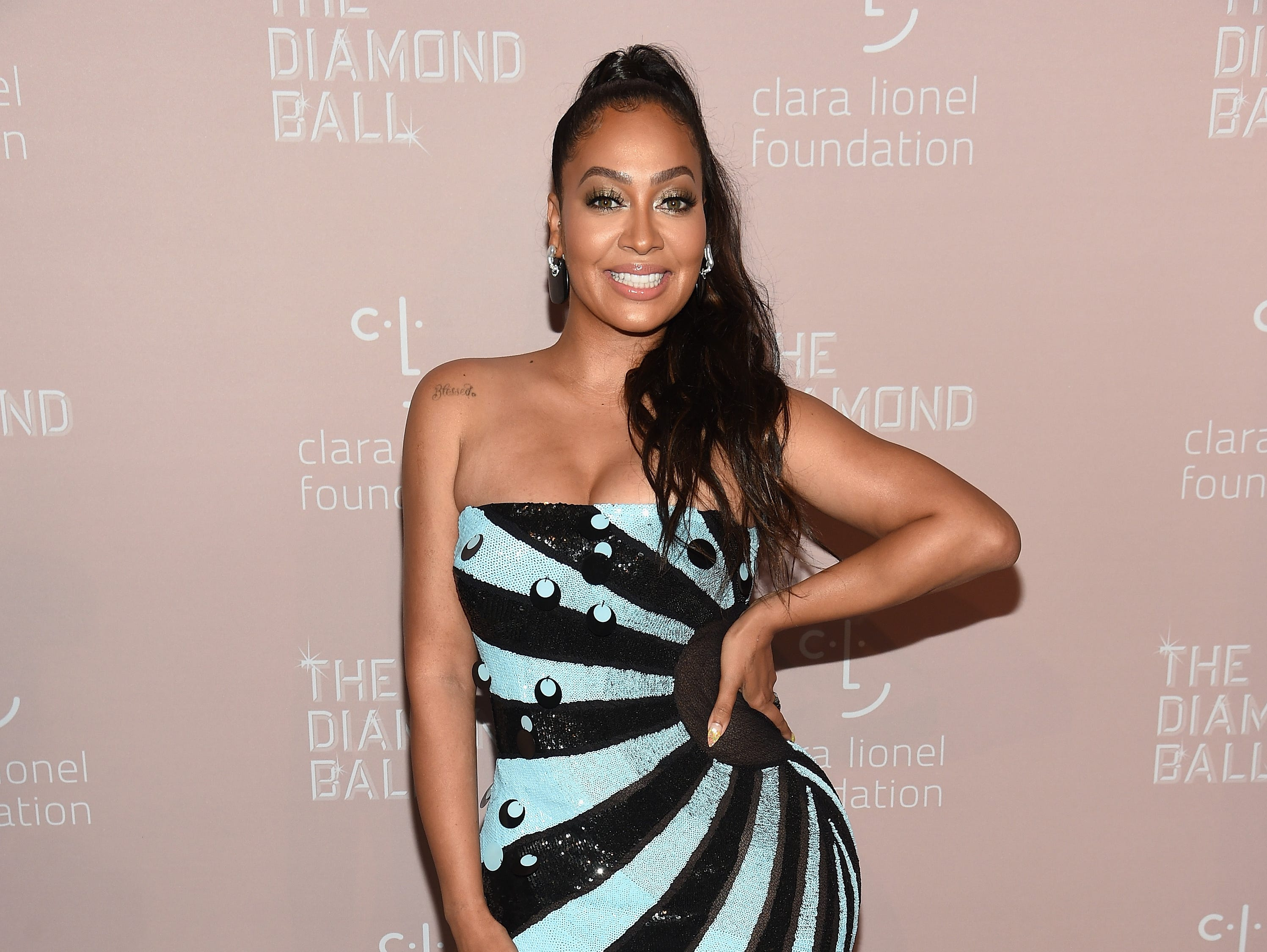 NEW YORK, NY - SEPTEMBER 13: La La Anthony attends Rihanna's 4th Annual Diamond Ball benefitting The Clara Lionel Foundation at Cipriani Wall Street on September 13, 2018 in New York City.  (Photo by Dimitrios Kambouris/Getty Images for Diamond Ball) ORG XMIT: 775197456 ORIG FILE ID: 1032932944
