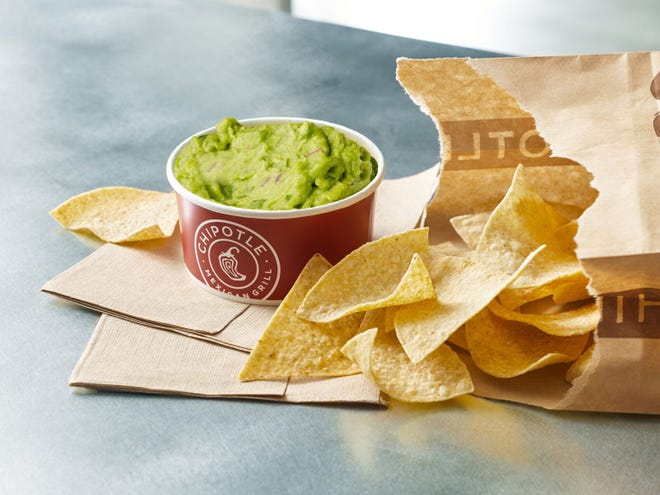 Chipotle is now selling large sides of guacamole.