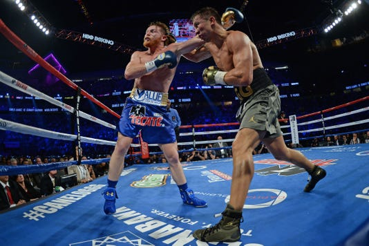 Usp Boxing Canelo Vs Golovkin S Box Usa Nv