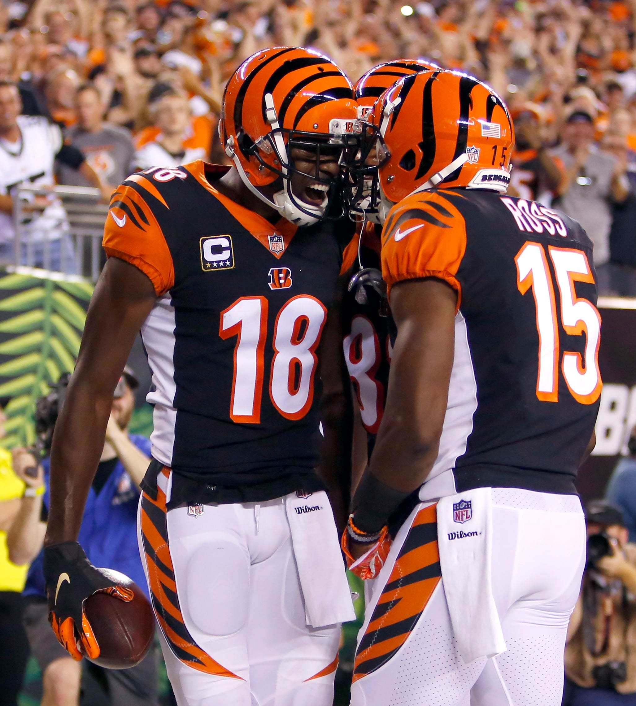 Nfl Baltimore Ravens At Cincinnati Bengals
