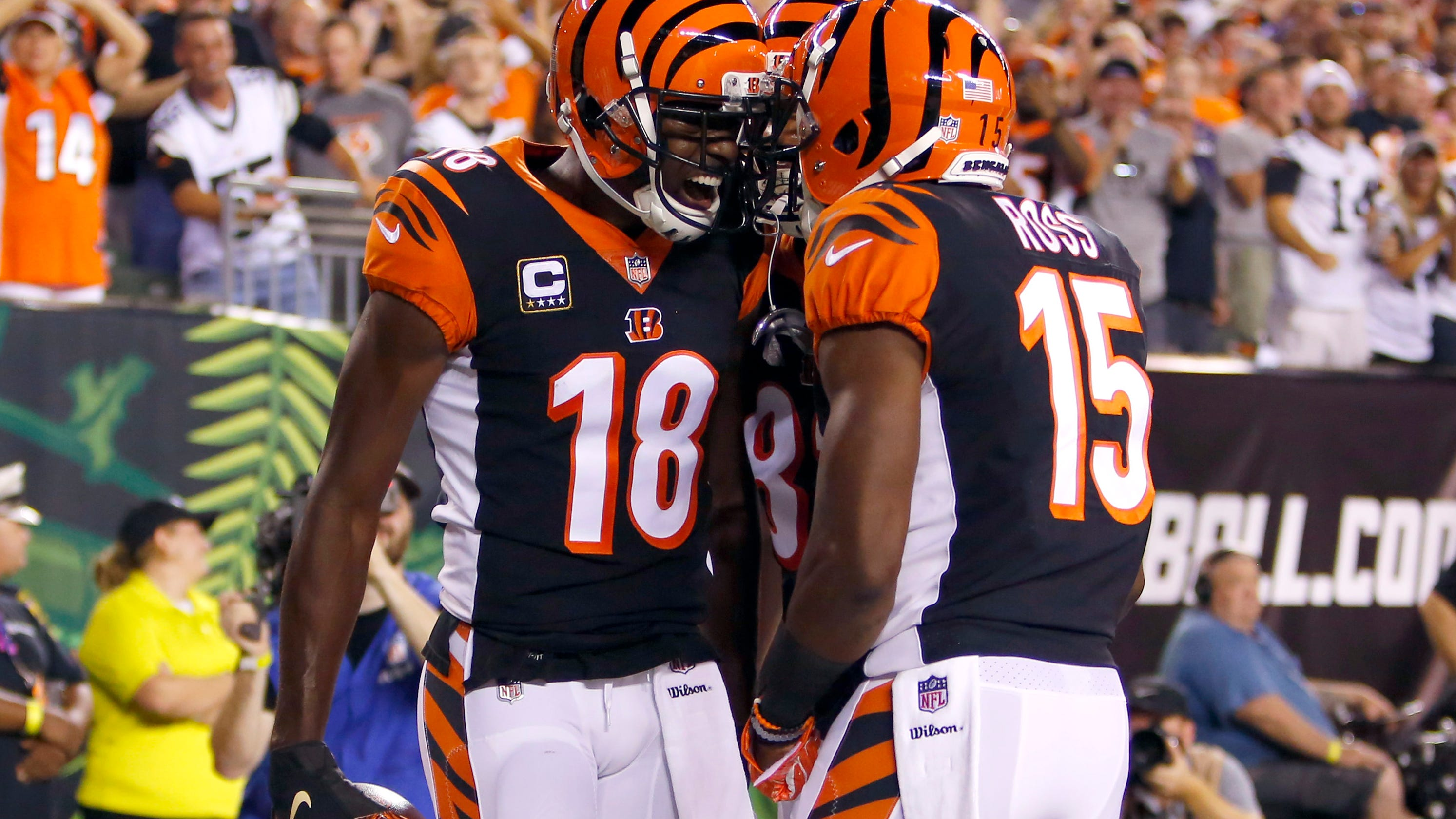 a1fd05aa5 Cincinnati Bengals topple Baltimore Ravens and put league on notice with  2-0 start