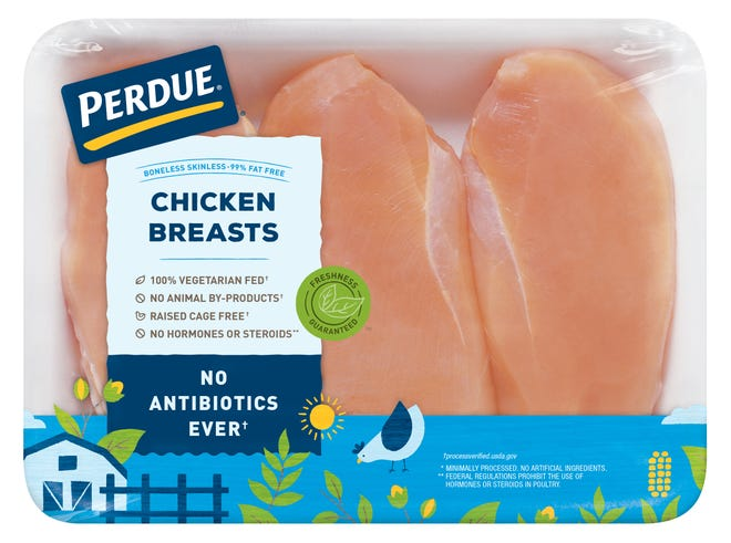 Perdue's new packaging is designed to attract millennials to the brand.