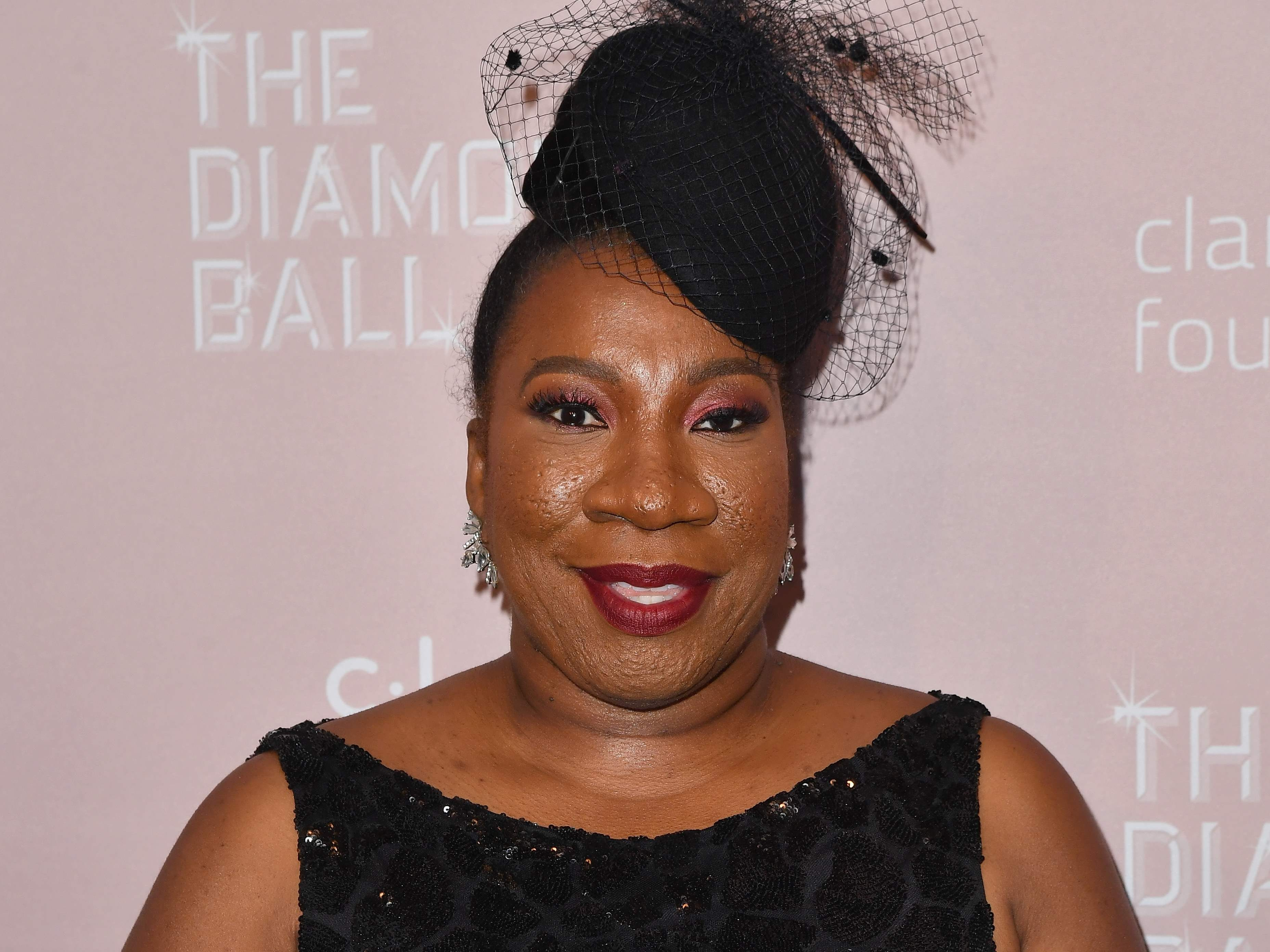 US activist Tarana Burke attends Rihanna's 4th Annual Diamond Ball at Cipriani Wall Street on September 13, 2018 in New York City. (Photo by Angela Weiss / AFP)ANGELA WEISS/AFP/Getty Images ORIG FILE ID: AFP_1932OG