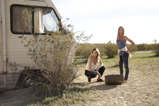 "Denise Richards and Mischa Barton plays strangers battling a haunted trailer in ""The ToyBox."""