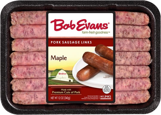 The New Albany, Ohio, company has recalled more than 46,700 pounds of pork sausage links for possible contamination with extraneous materials, including pieces of clear hard plastic.