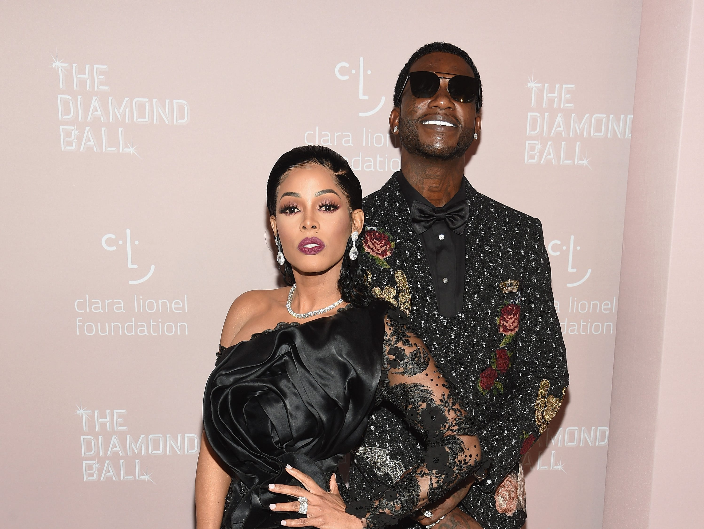 NEW YORK, NY - SEPTEMBER 13: Keyshia Ka'Oir (L) and Gucci Mane attend Rihanna's 4th Annual Diamond Ball benefitting The Clara Lionel Foundation at Cipriani Wall Street on September 13, 2018 in New York City.  (Photo by Dimitrios Kambouris/Getty Images for Diamond Ball) ORG XMIT: 775197456 ORIG FILE ID: 1032941788