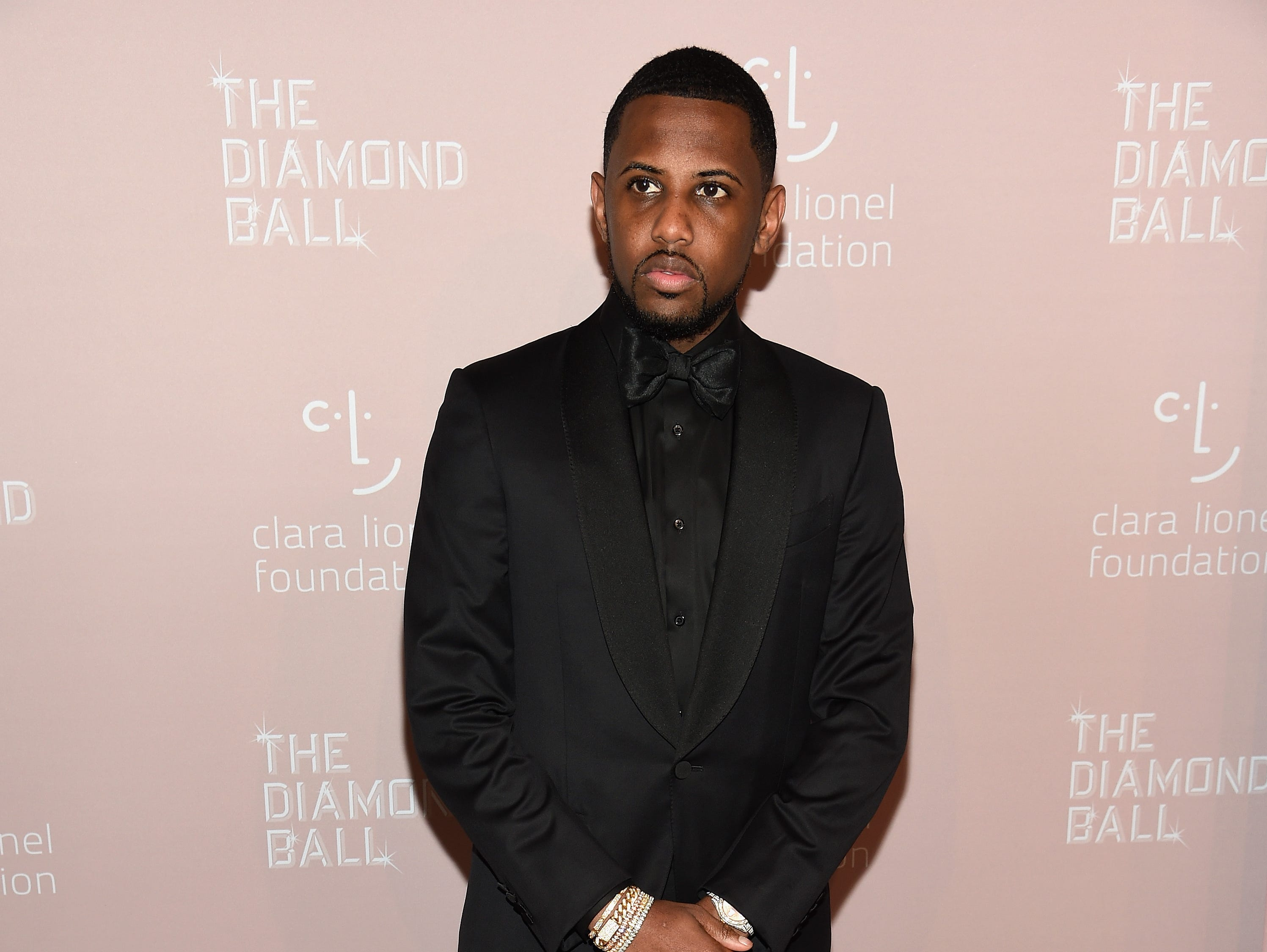 NEW YORK, NY - SEPTEMBER 13:  Fabolous attends Rihanna's 4th Annual Diamond Ball benefitting The Clara Lionel Foundation at Cipriani Wall Street on September 13, 2018 in New York City.  (Photo by Dimitrios Kambouris/Getty Images for Diamond Ball) ORG XMIT: 775197456 ORIG FILE ID: 1032933028