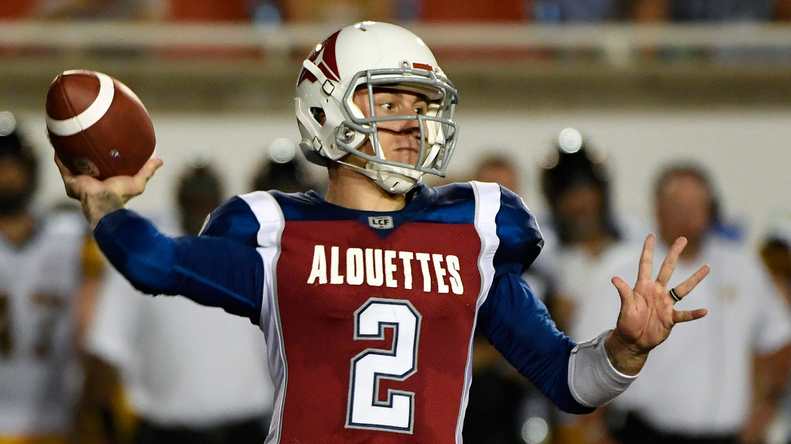 Johnny Manziel feels like he s spinning his wheels with Alouettes 47d94003d