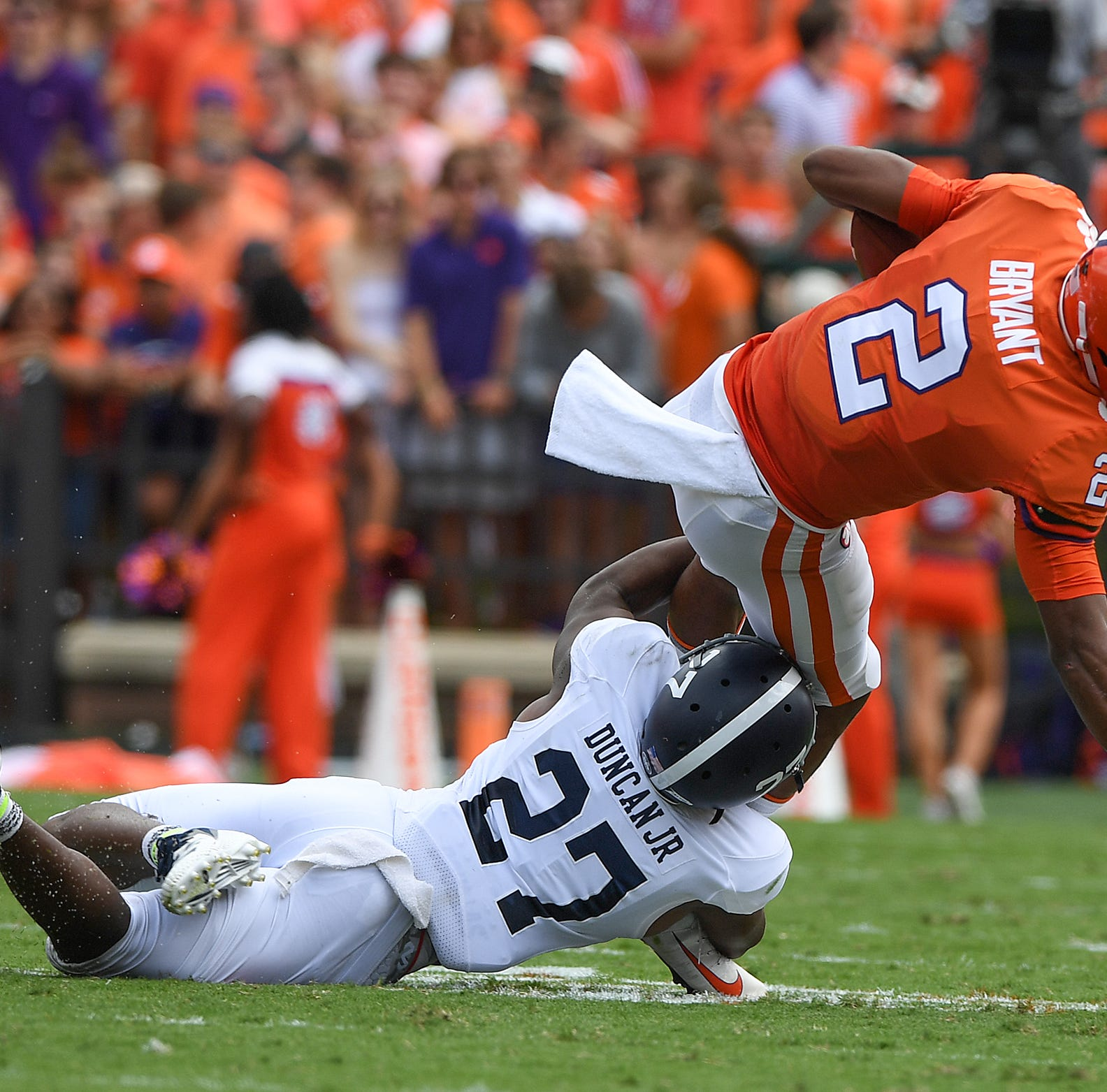Clemson-Georgia Southern live blog: Kelly Bryant injured in Tigers' blowout win