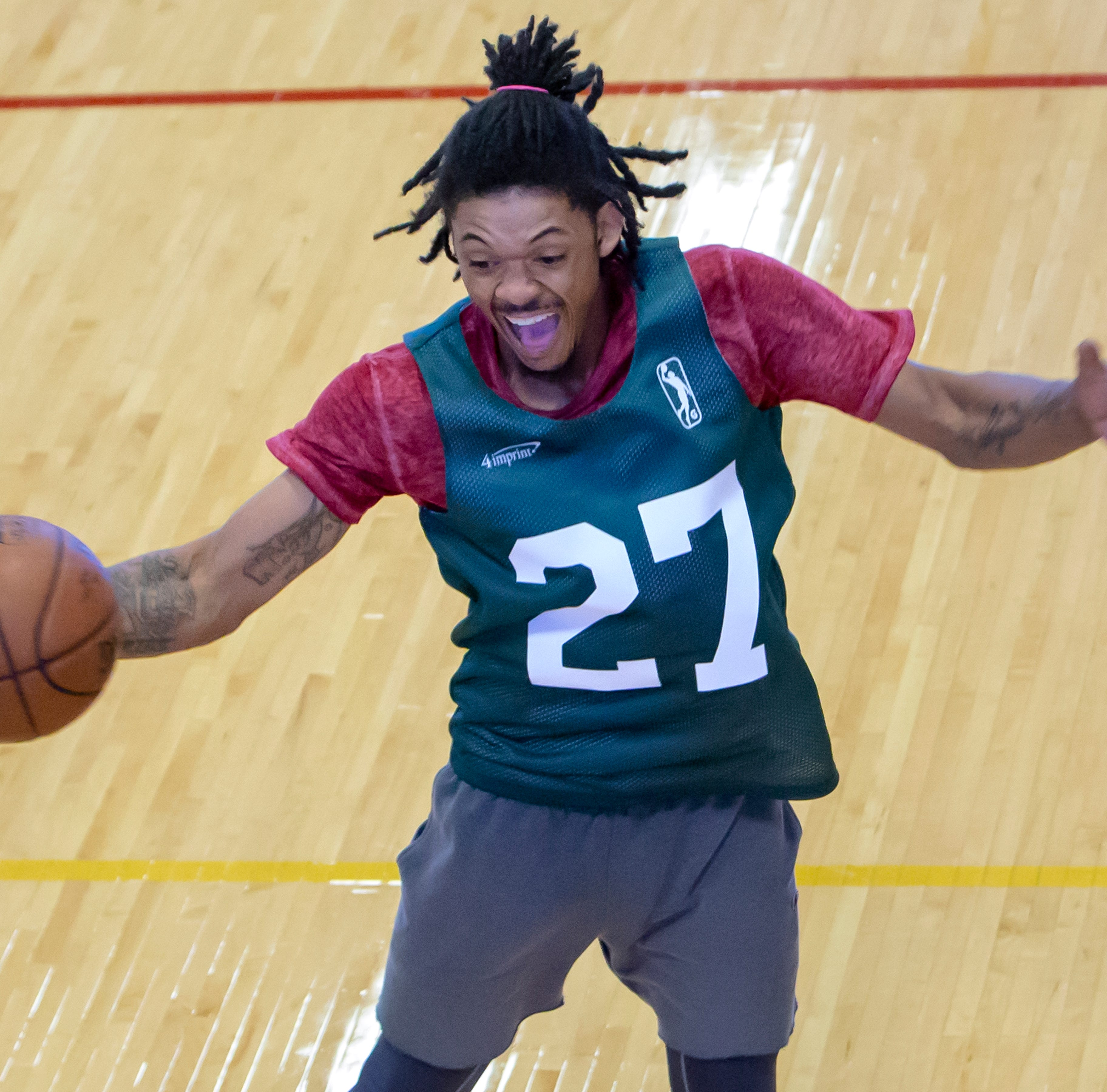 Players from around the world travel to Oshkosh for a chance to play with the Wisconsin Herd