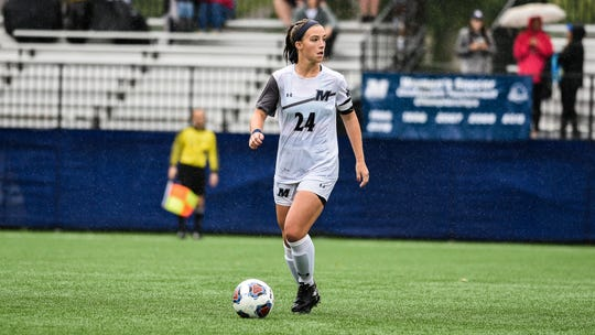 Howell native Jess Johnson plays the midfield for Monmouth women's soccer.