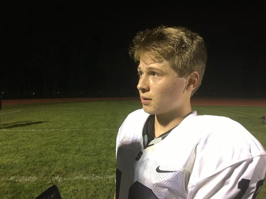 Chris Kaldrovics, Middletown South kicker