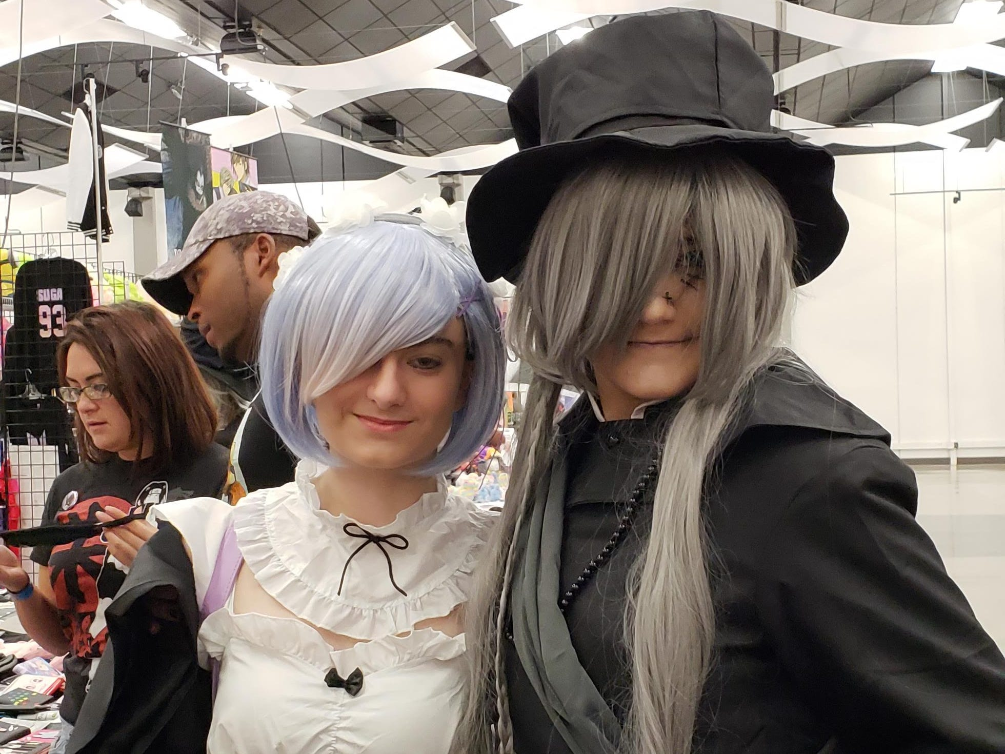 Brooke Janssen and Jessica Gorski, both students at Abilene Christian University, were among the many cosplayers who attended Anime Sekai at the Abilene Convention Center Saturday.