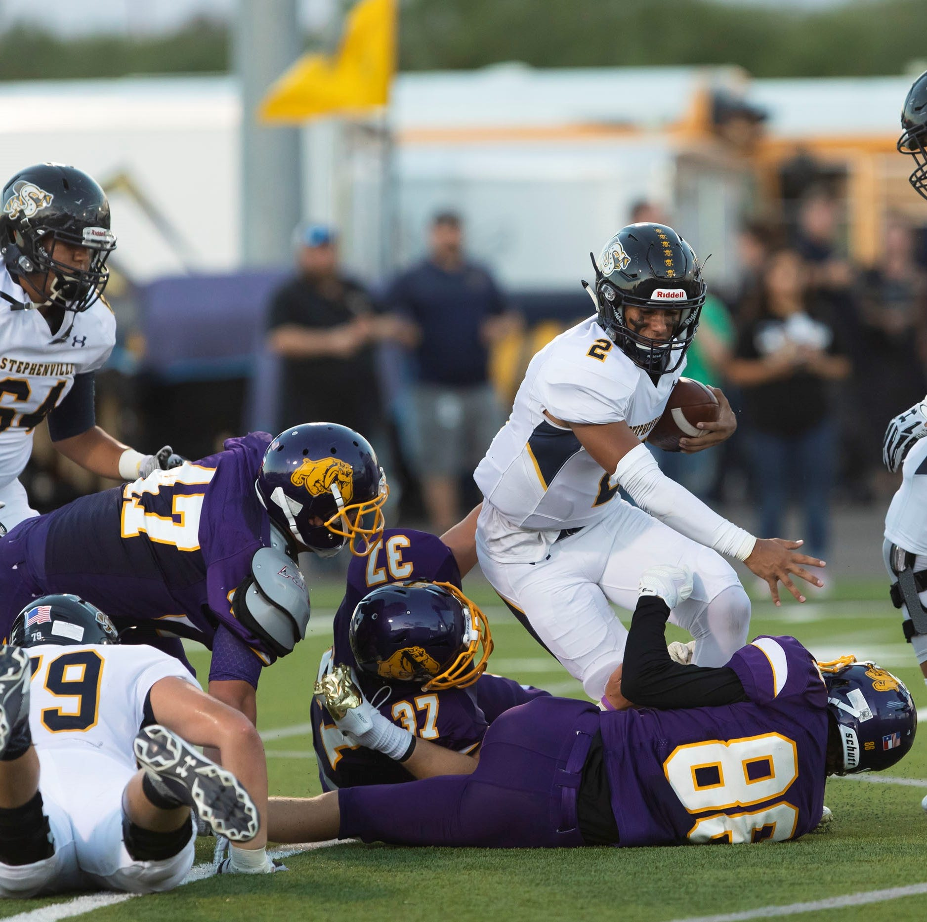 Texas High School Football Scores Sept. 13-15