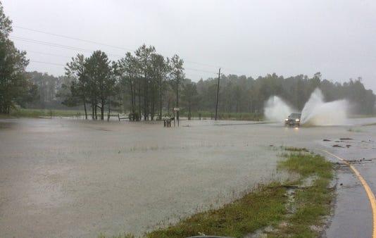 US 17 flooding (NCDOT)