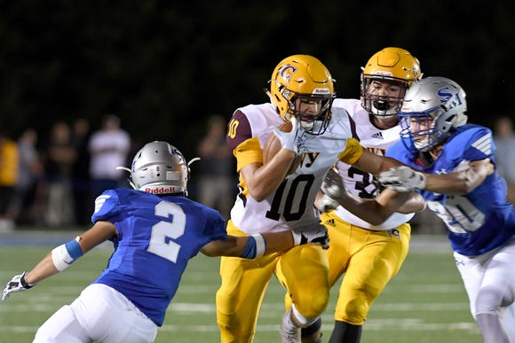 Smoky Mountain defeated Cherokee 28-12 in their game at Smoky Mountain High School on Sept. 14, 2018.