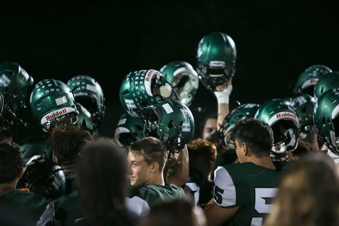 East Henderson defeated Polk 20-13 in a high school football game Sept. 14, 2018, at East Henderson.