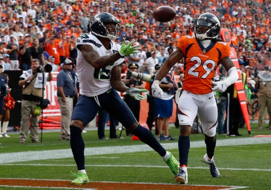 With Doug Baldwin still ailing, the Seahawks need Brandon Marshall or one of their other receivers to step up again.