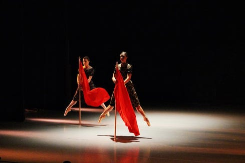 "Ballet Magnificat perform ""The Scarlet Cord"" in Poulsbo Sept. 22."