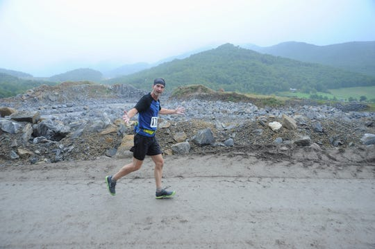 The Rock the Quarry Trail Challenge 5K and Kids Fun Run, which returns to Grove Stone & Sand Co. on Sept. 14, takes runners through the mouth of the quarry, overlooking the valley below.