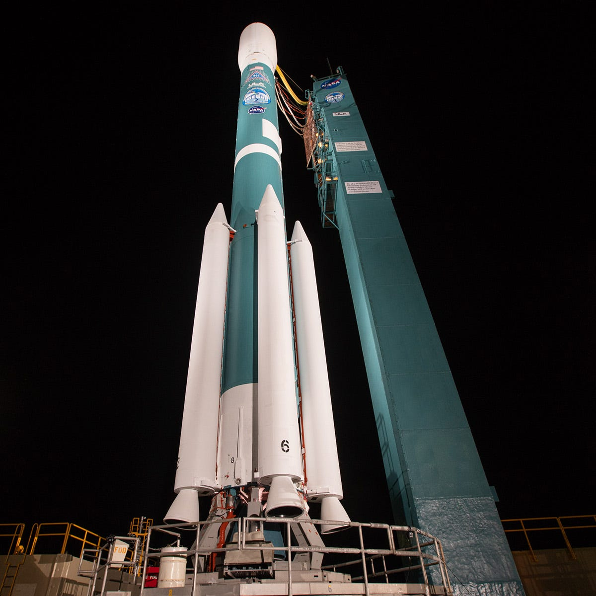 Watch ULA launch the last ever Delta II rocket from California with NASA's ICESat