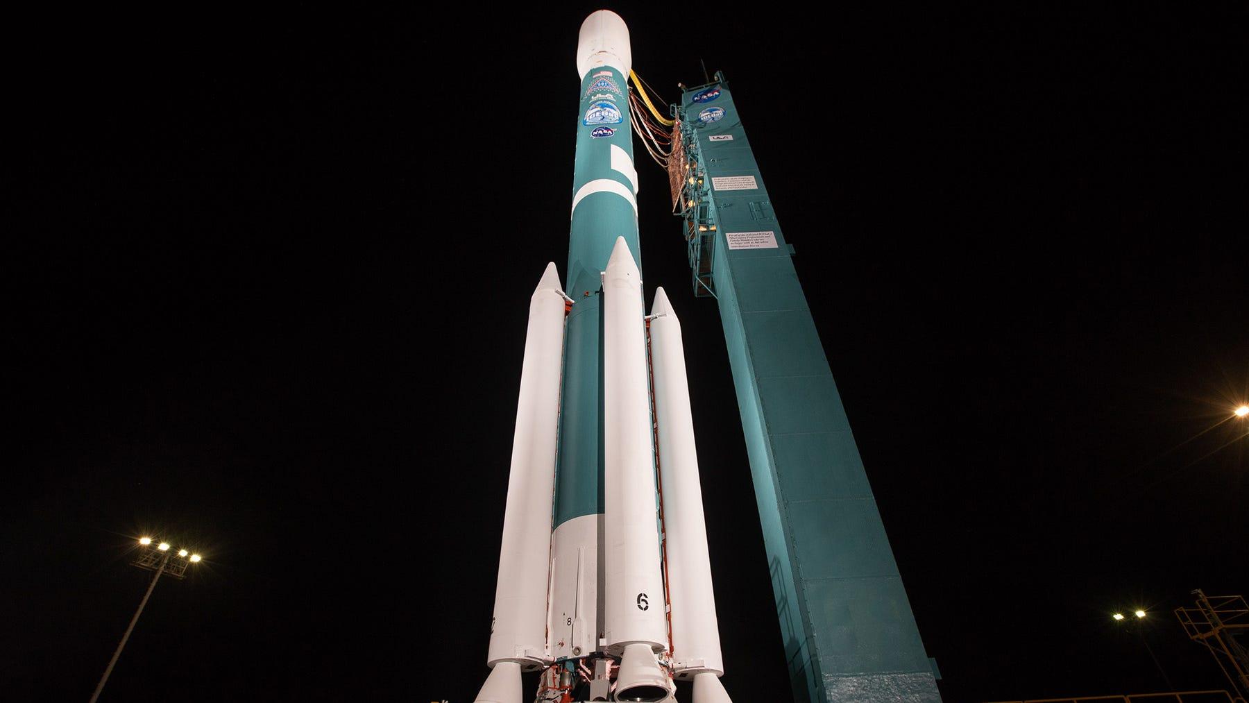 United Launch Alliance's last Delta II rocket...
