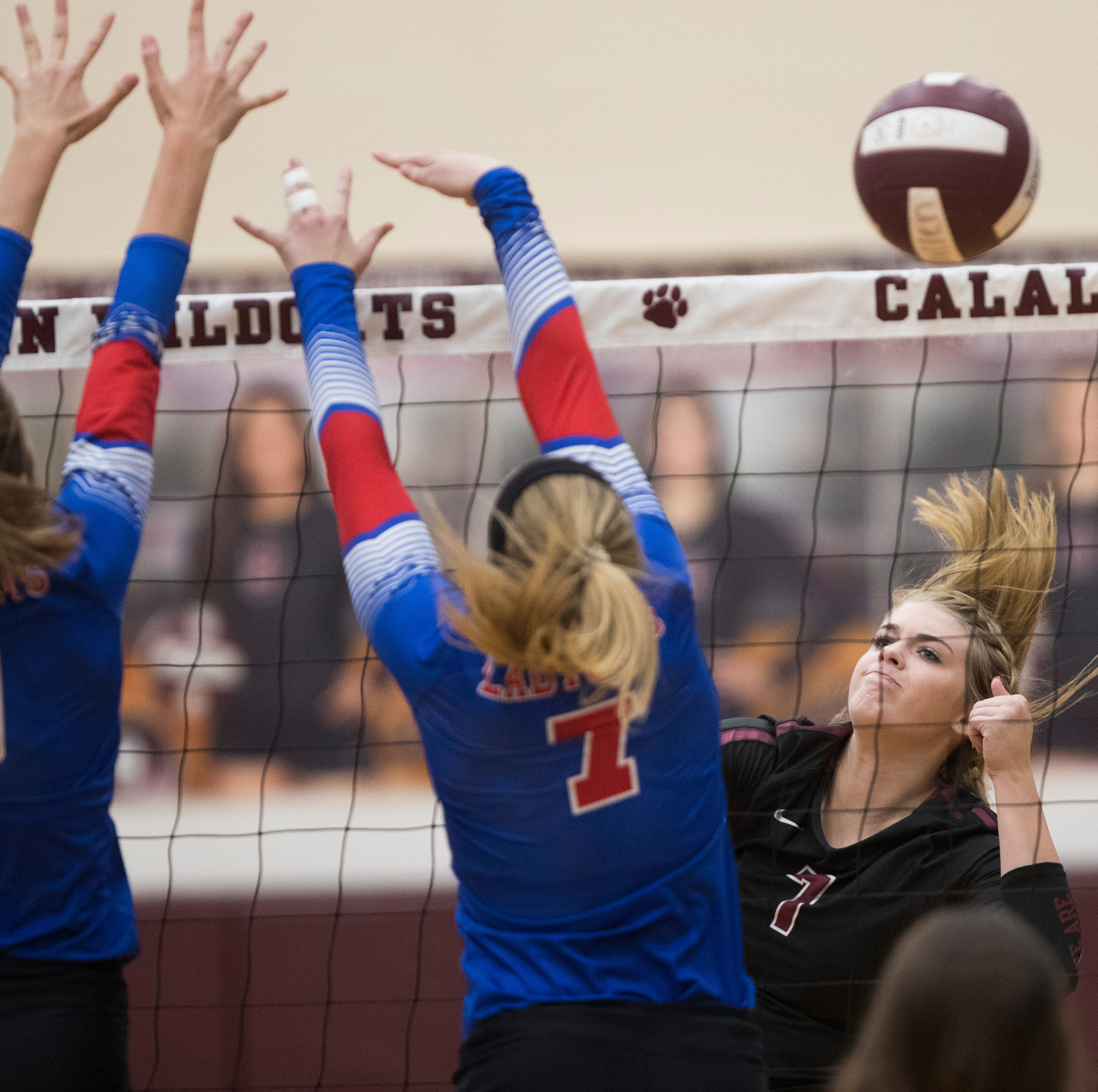 Updated High School Volleyball results as district play heats up and schedules