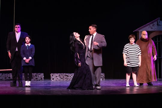 The Harbor Playhouse's production of Addams Family running from Sept. 21 - October 31st.