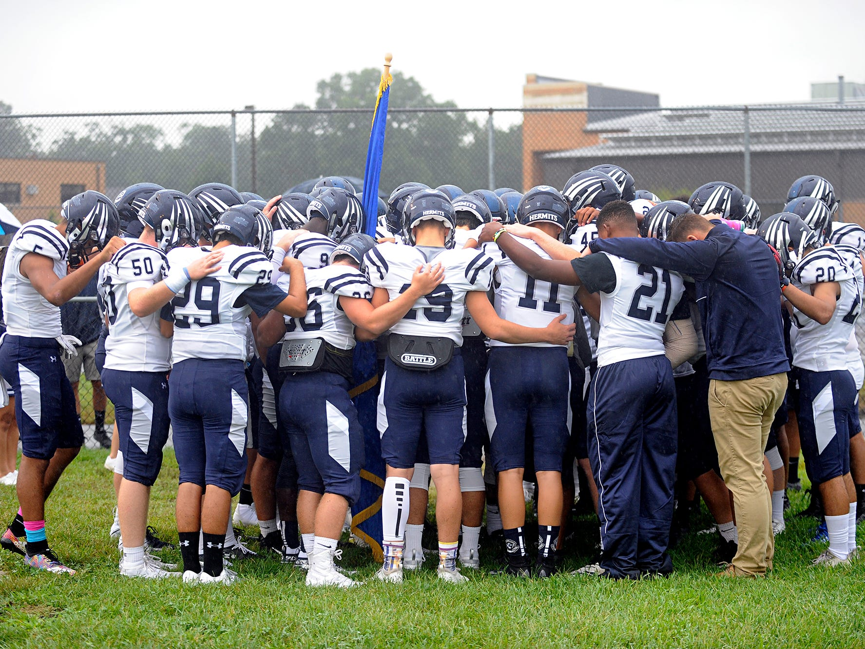 St. Augustine dropped to 1-2 for the season after being defeated at home by St. Joseph. The Wildcats rolled past the Hermits 30-8 on Friday, September 14.
