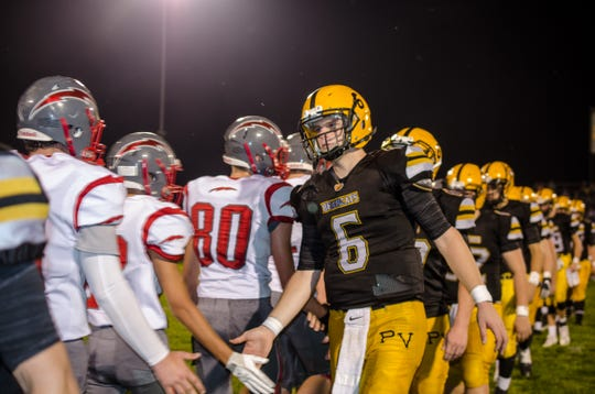 Paint Valley defeated Piketon Friday night at Paint Valley High School 41-8.