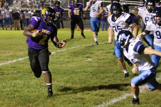 Unioto defeated Adena at Unioto High School Friday night 33-15.