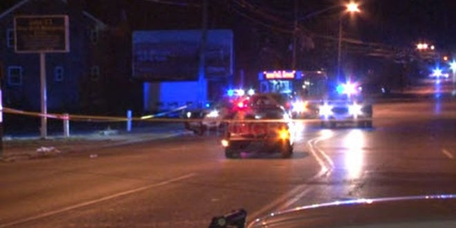 A pedestrian was hit at Tennessee Avenue and Paddock Road in Bond Hill early Saturday, Cincinnati police said.