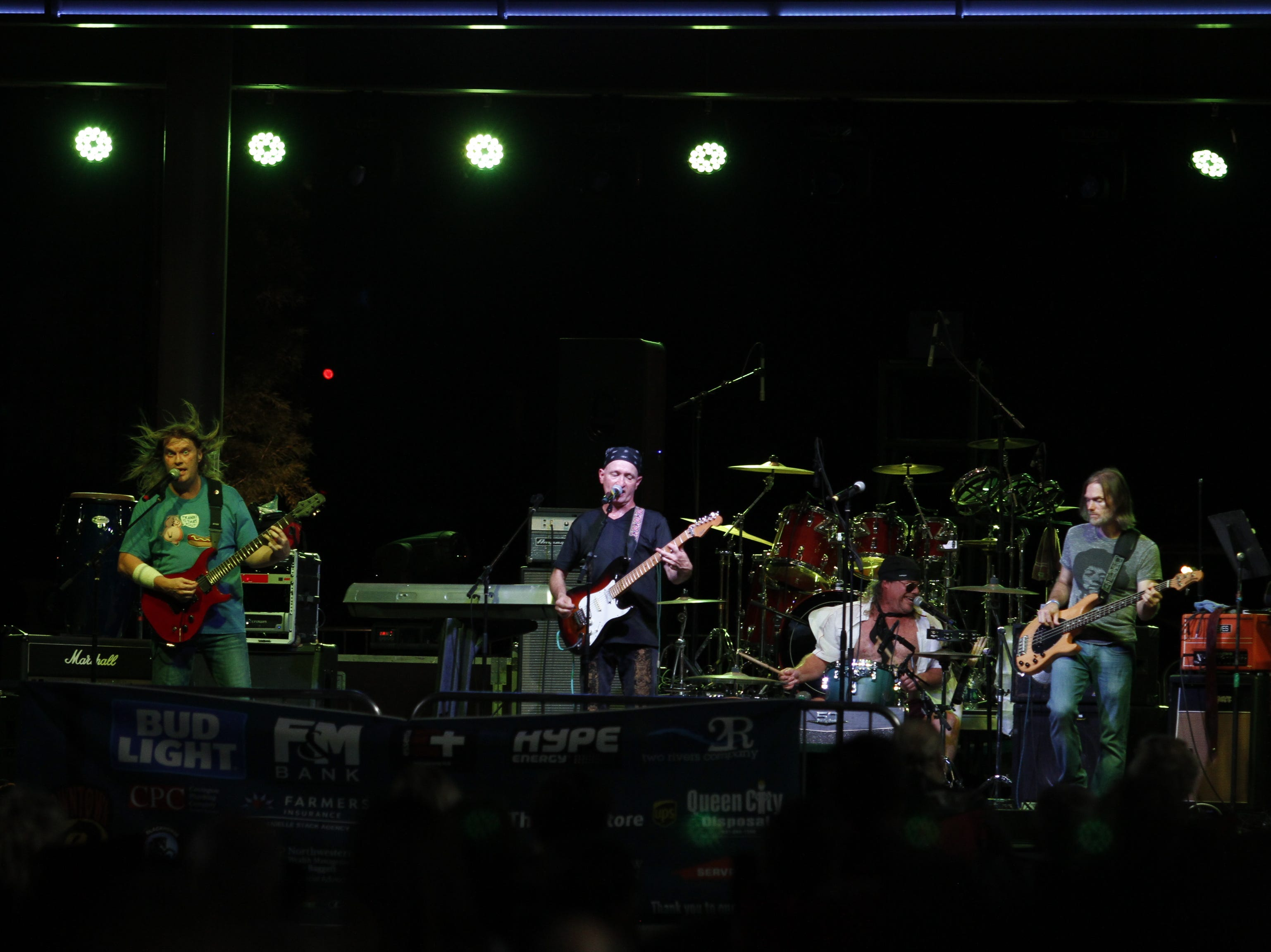 Neil Brock and the Cover Up at the Downtown at Sundown Welcome Home Veterans Concert featuring American Floyd, Friday, Sept. 14, 2018.