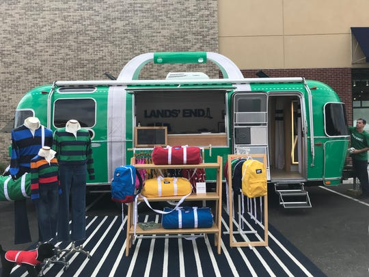 The Airsteam Tour of the Lands' End Heritage Collection made its only East Coast stop on Sept. 15 for the grand opening of the Bridgewater location at Chimney Rock Crossing.