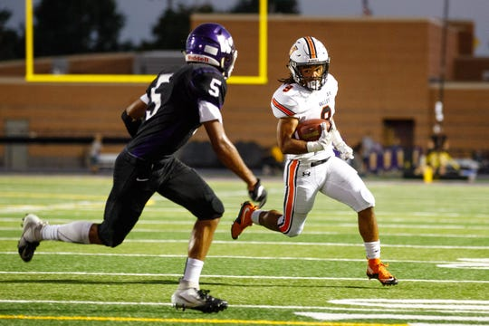 Valley High School's Creighton Mitchell returns as one of the state's top running backs in 2019.