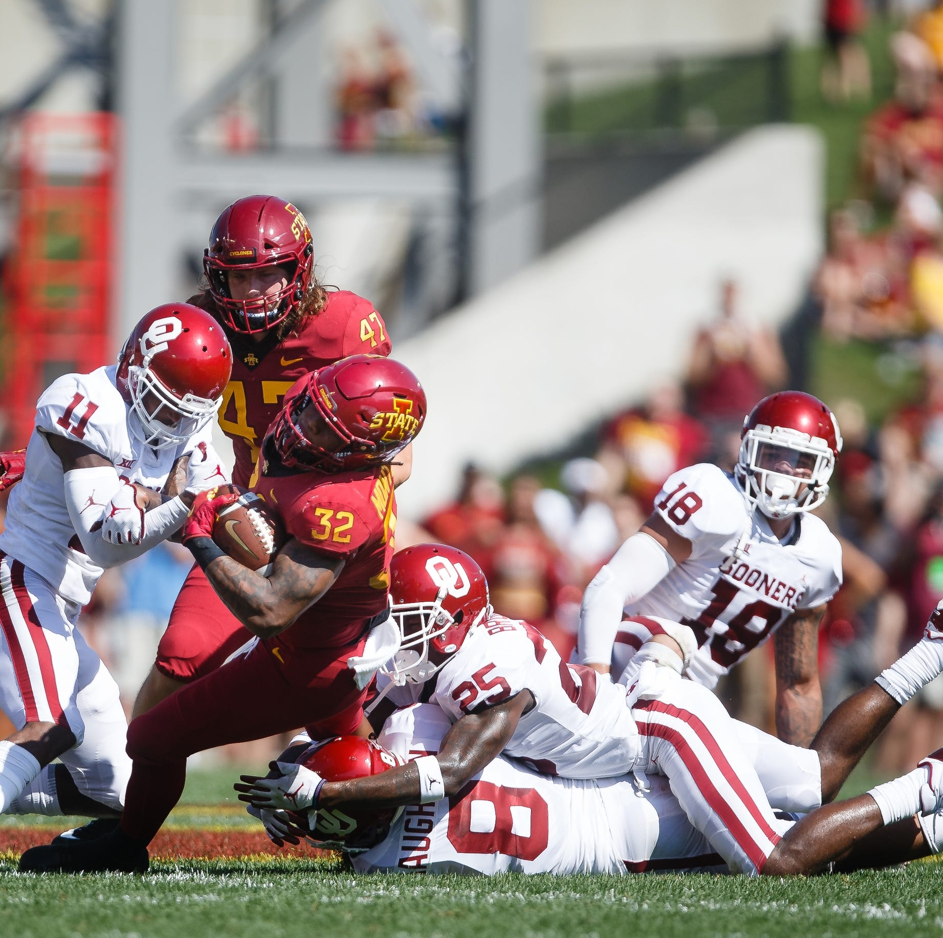 Peterson: Iowa State a 3-TD favorite against Akron? Plus, trash that 'Wildcat' play.