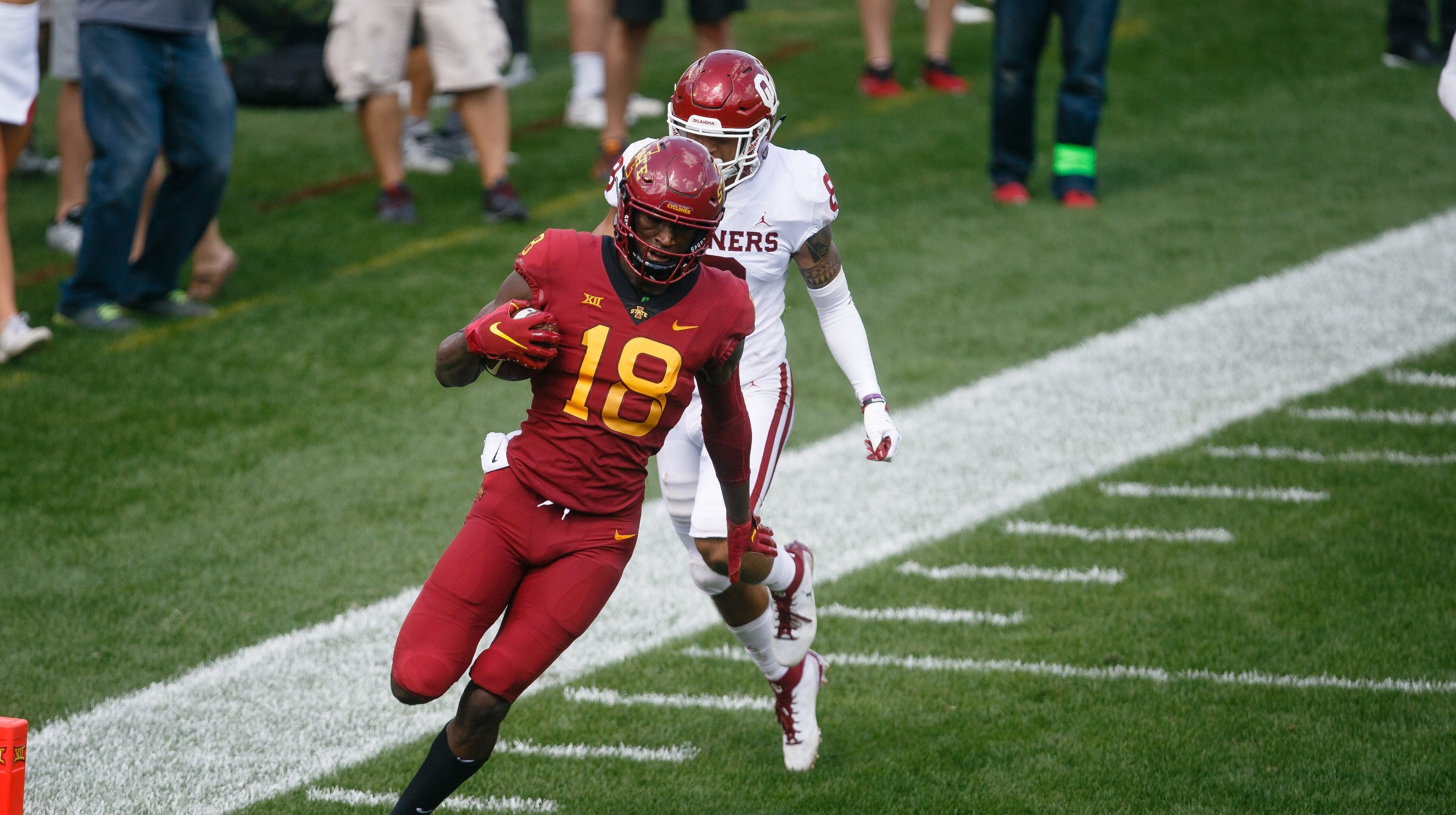 Stats file: Details on projected football starters for Iowa State against Akron
