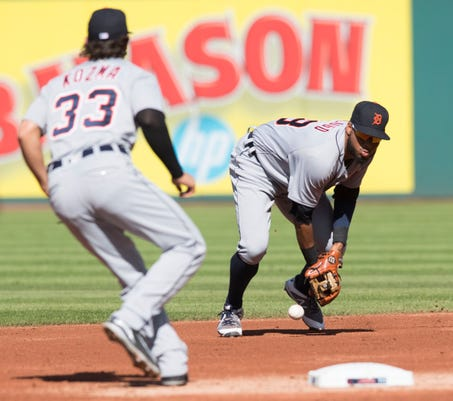 Mlb Detroit Tigers At Cleveland Indians