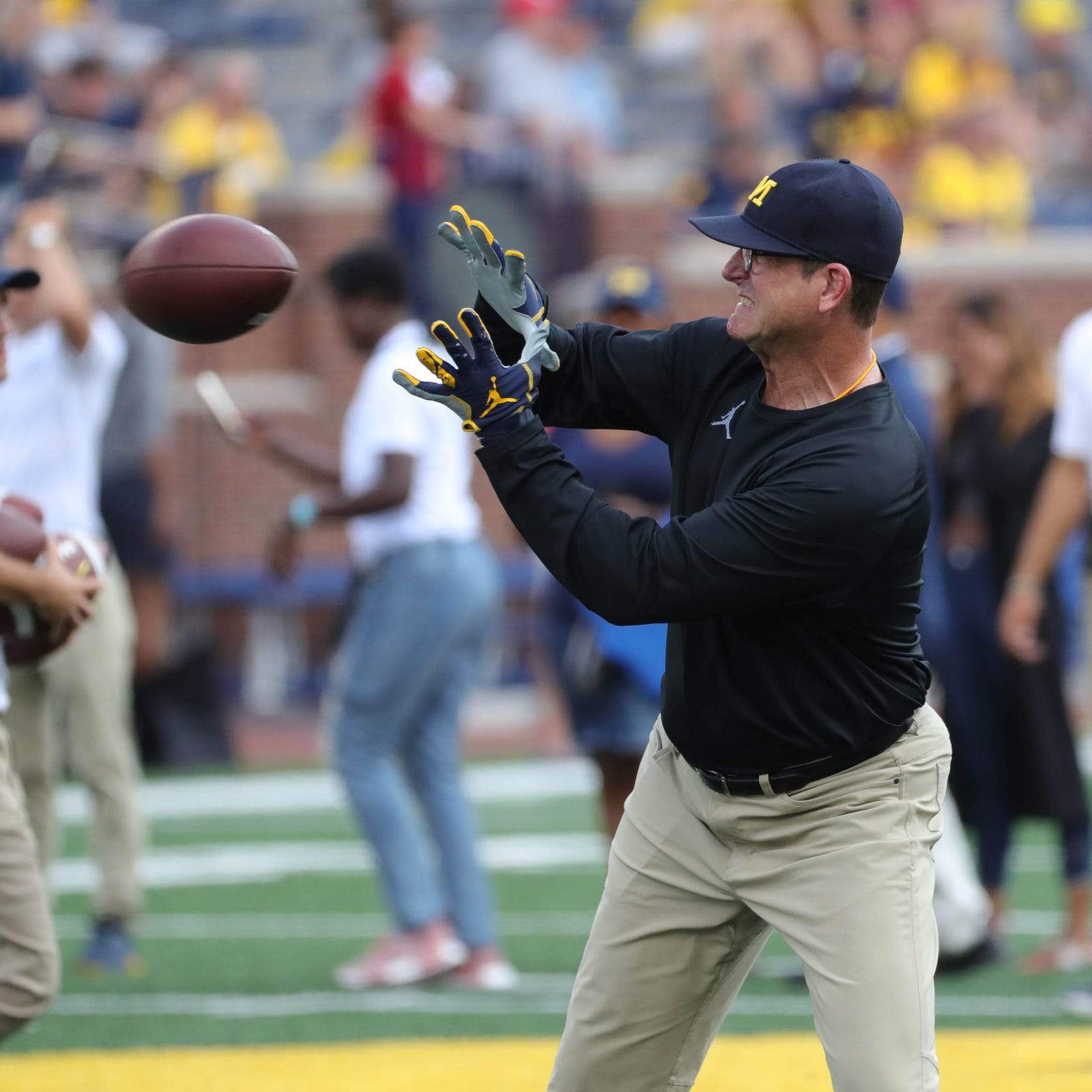 Jim Harbaugh's Michigan tenure 'heightened' by alumni status