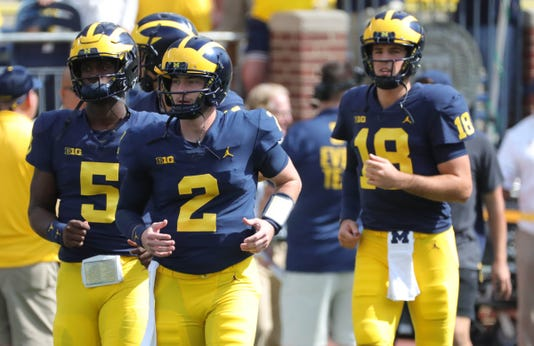 Michigan QBs, Shea Patterson
