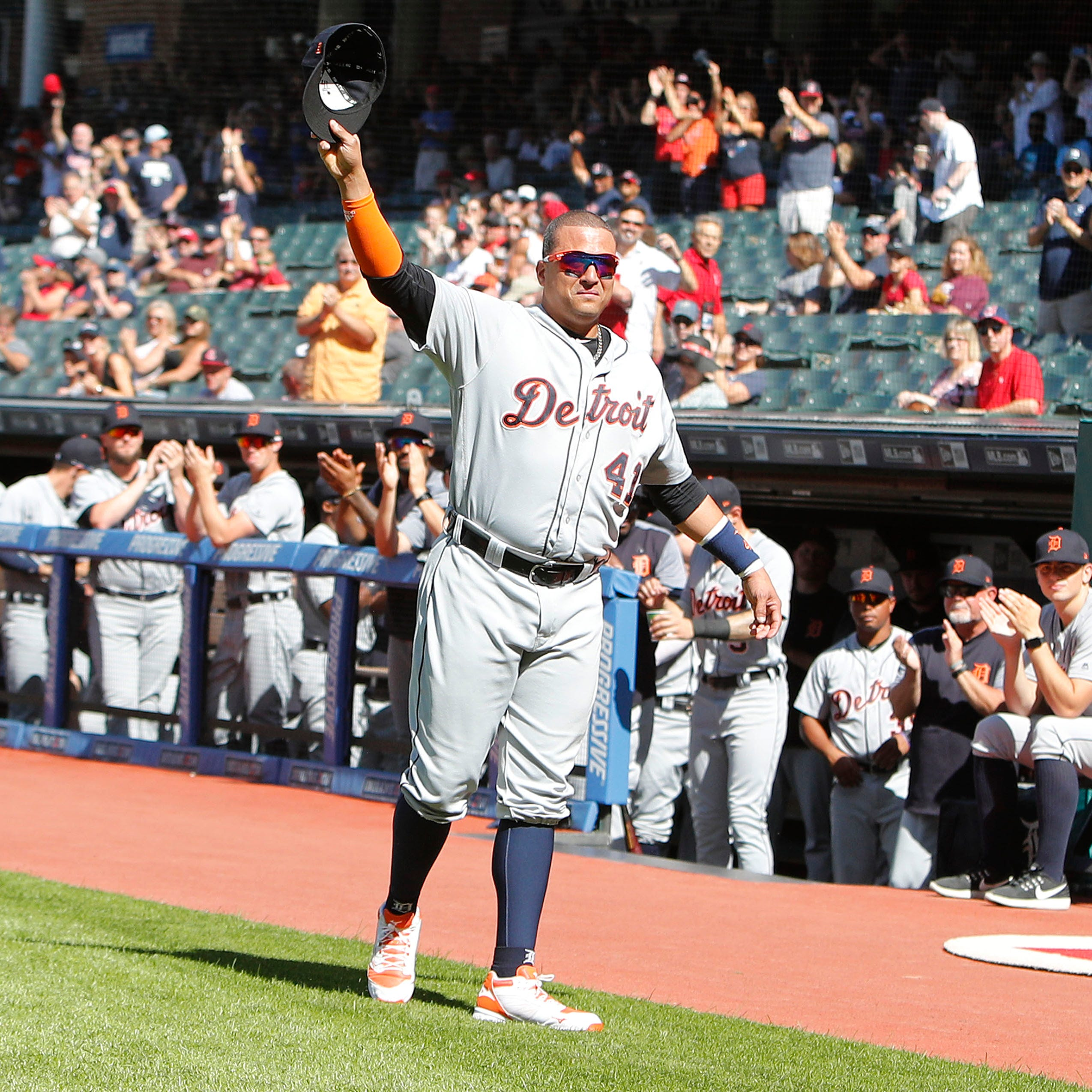 Detroit Tigers' Victor Martinez: Saturday will be final game of career