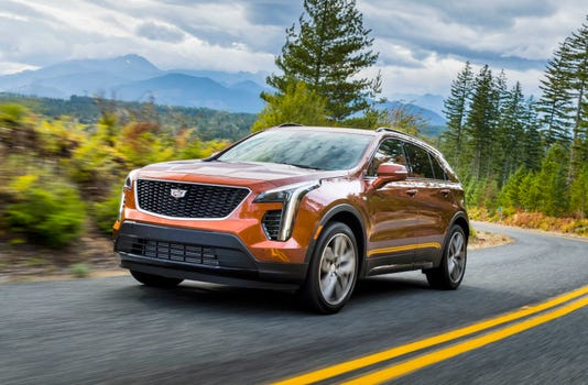 Right Cadillac At The Right Time Cadillac Xt4 Suv First Drive