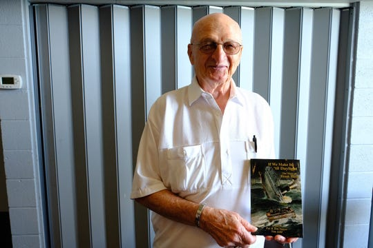 """Frank Mays and his book, """"If We Make it 'till Daylight."""""""