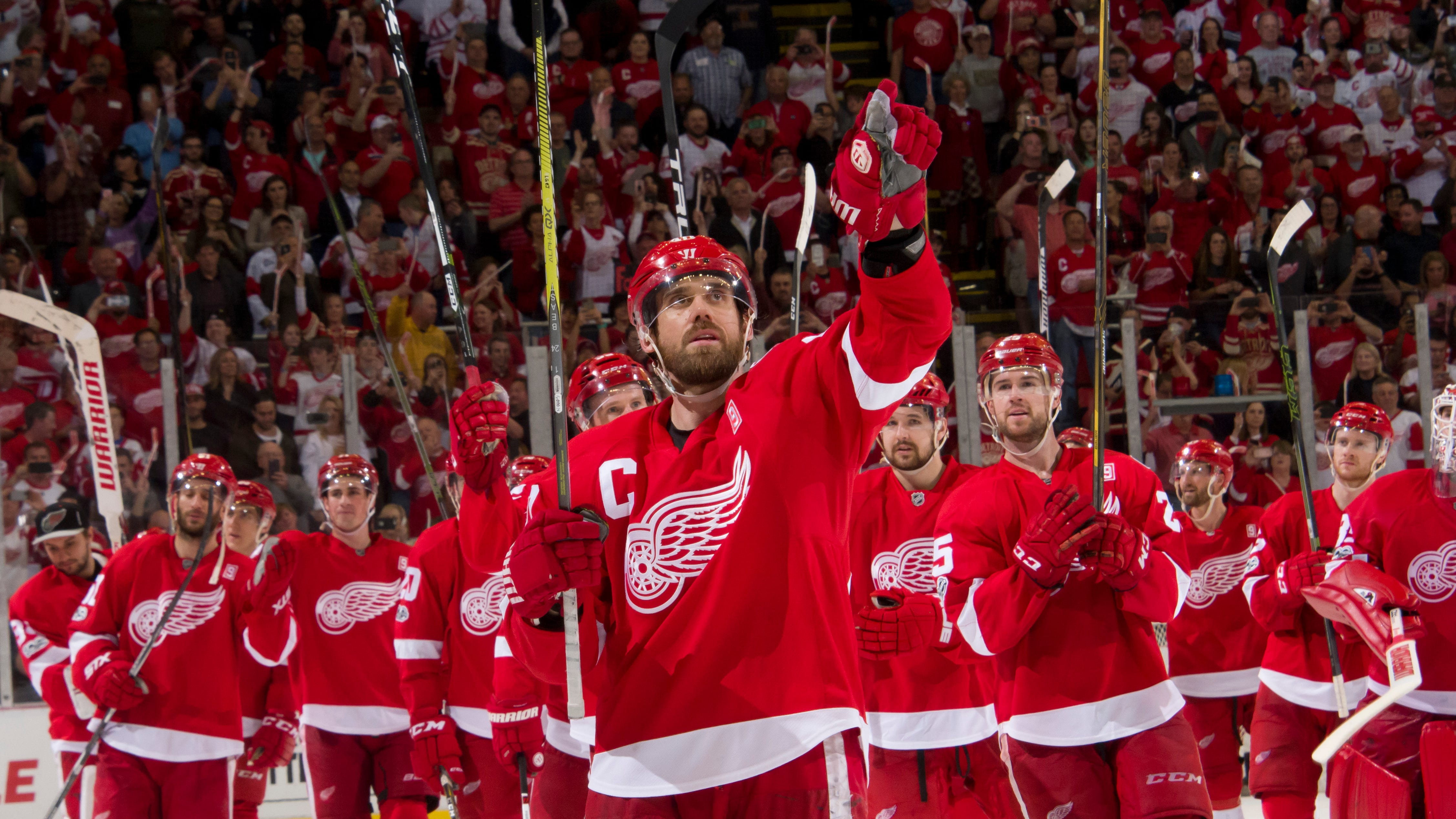 Wojo: Zetterberg led to the end, finally beaten by pain and time