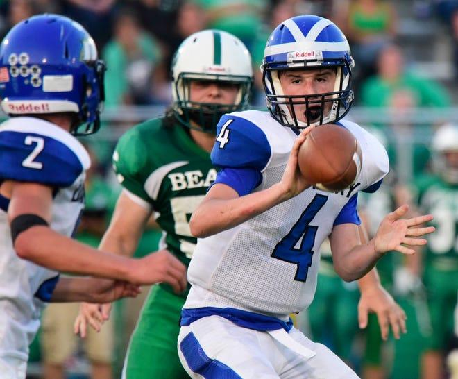 Danbury quarterback Kaden Conrad is a senior.