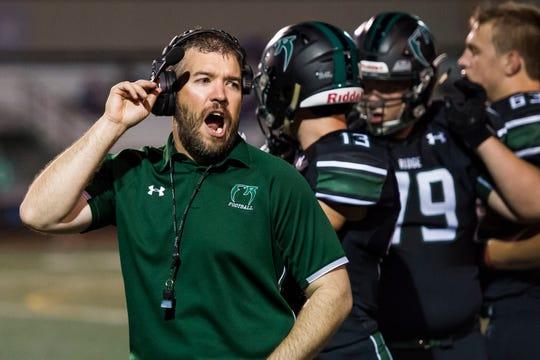 Fossil Ridge High School head football coach Zak Bigelow resigned after three seasons.