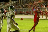 North Fort Myers High School senior quarterback Jesse Charles had a hand in six touchdowns in a 57-0 rout of Island Coast.