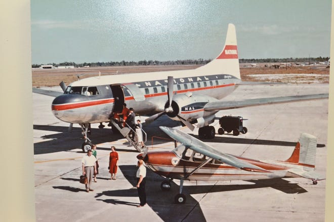 After the war, and before Southwest Florida International Airport was built, Page Field in Fort Myers was a hub for National Airlines.