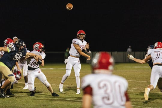 Scenes from the high school football game between Evangelical Christian School and Southwest Florida Christian on Friday, Sept. 14, 2018.
